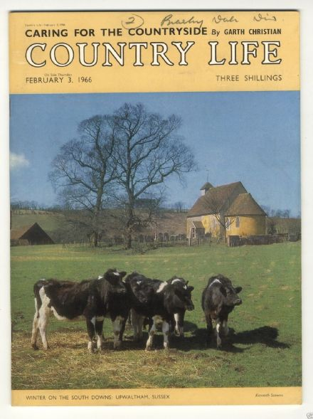 1966 COUNTRY LIFE Magazine GAYE LINDSAY-DICKSON Faversham HILL COURT (6953)
